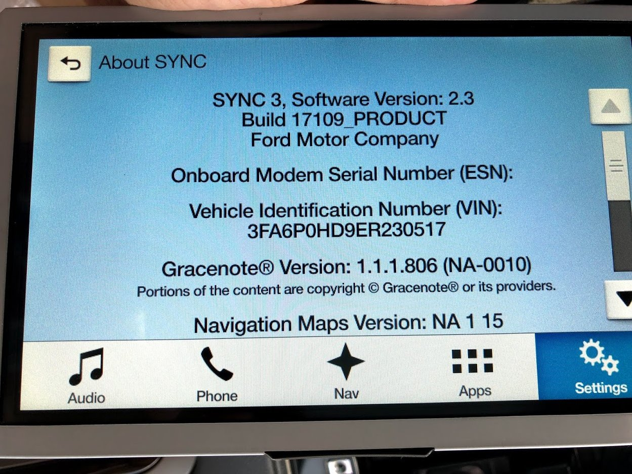 Sync 3 APIM with navigation | Ford Mustang Ecoboost Forum