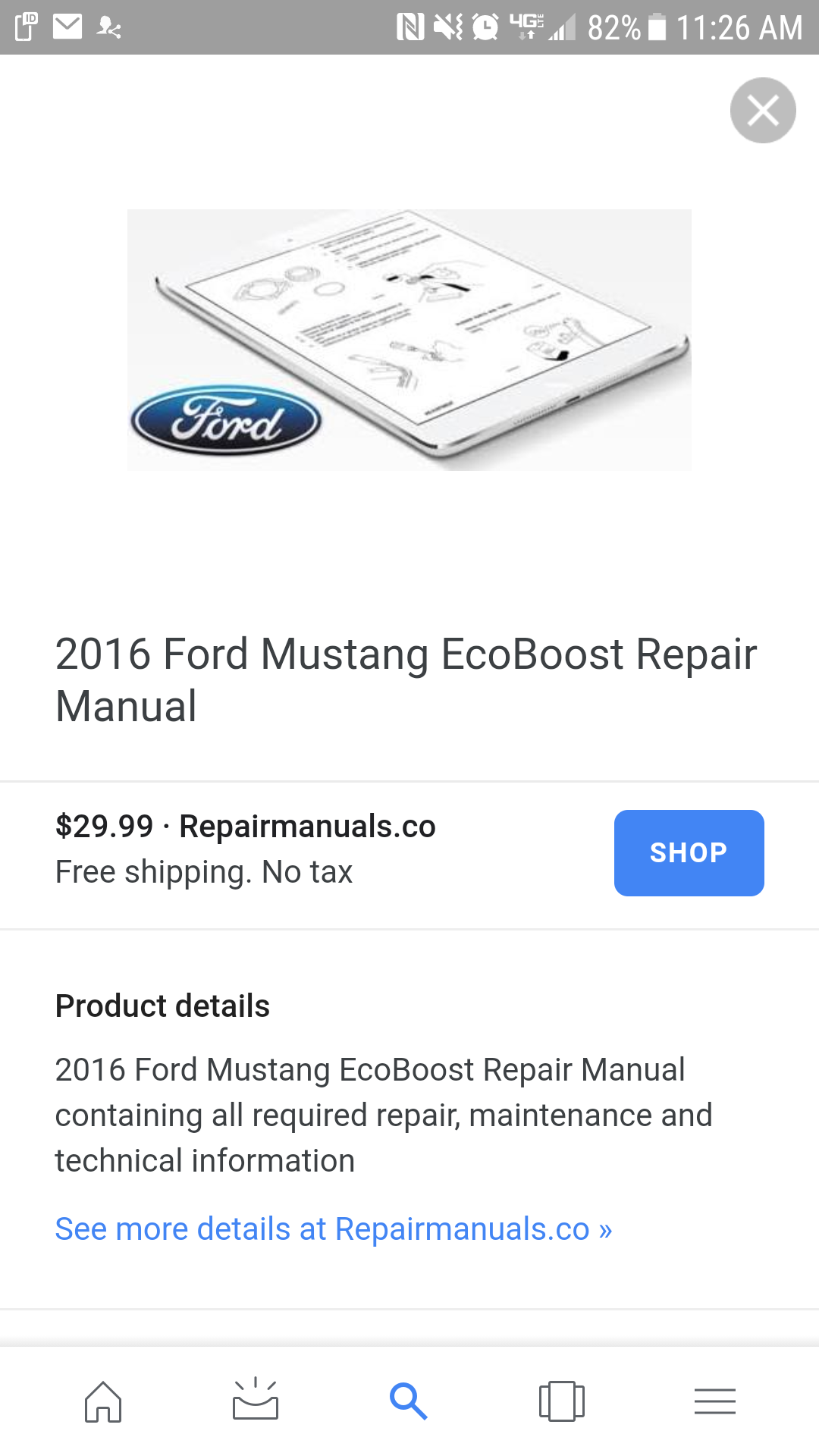 ford technical service manual